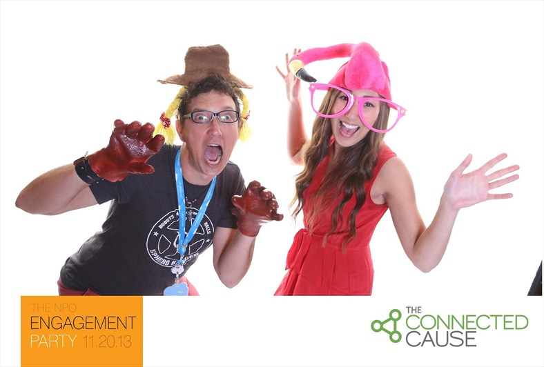 The Connected Cause Founding Partners NPO Engagement Party Photo Booth Pics