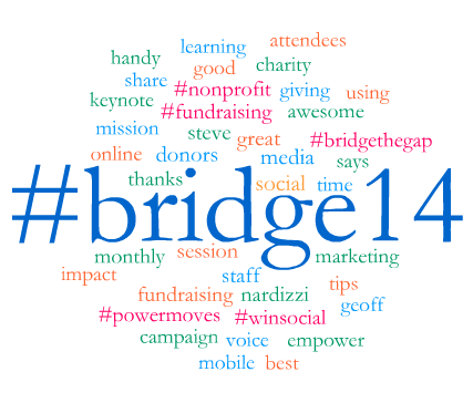 #Bridge14 50 Most Popular Words - Using Radian6