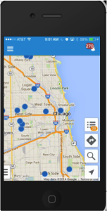 salesforce's geopointe map