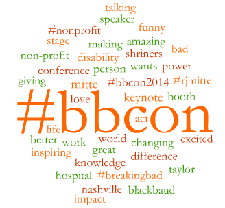 #bbcon day 1 morning trends