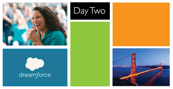 Dreamforce Day 2 #DF14 Social Recap