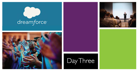 Dreamforce #DF14 Day 3 Social Recap